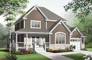 Plan de maison W3820-V1