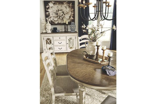 Realyn Dining Room Extension Table Room Extensions Foyer