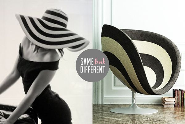 { SAME BUT DIFFERENT / 02 } | The Sweet Escape #blackwhite #stripes