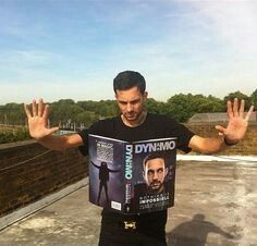 Dynamo pics up his book without touching it and starts to read it. Impossible!