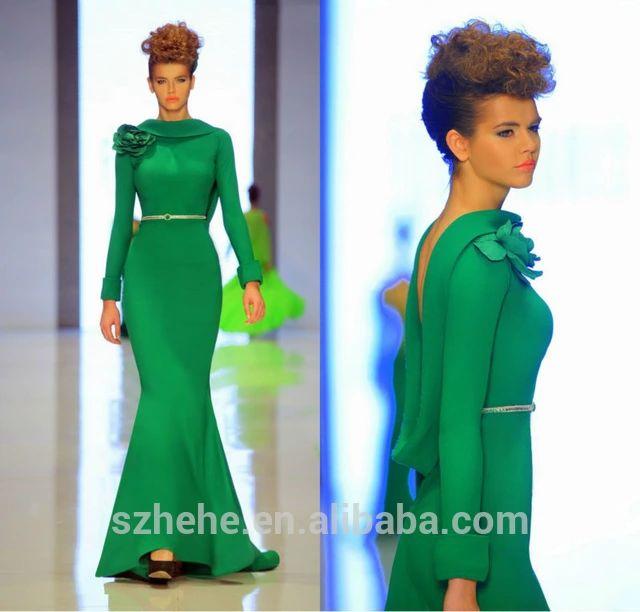 25  best ideas about Emerald green evening dress on Pinterest ...