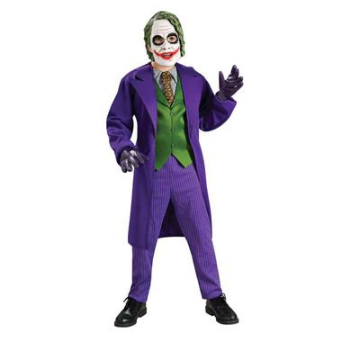The Joker! kids costume. Available from Costume Direct in Australia with fast shipping!