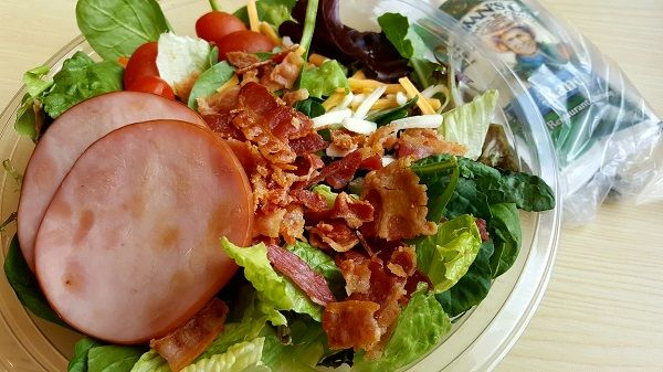 McDonald's Low Carb Salad for Breakfast :) http://www.travelinglowcarb.com/14821/low-carb-on-the-road/