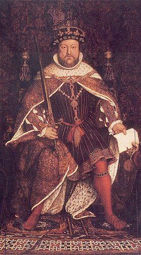 King Henry VIII of England.