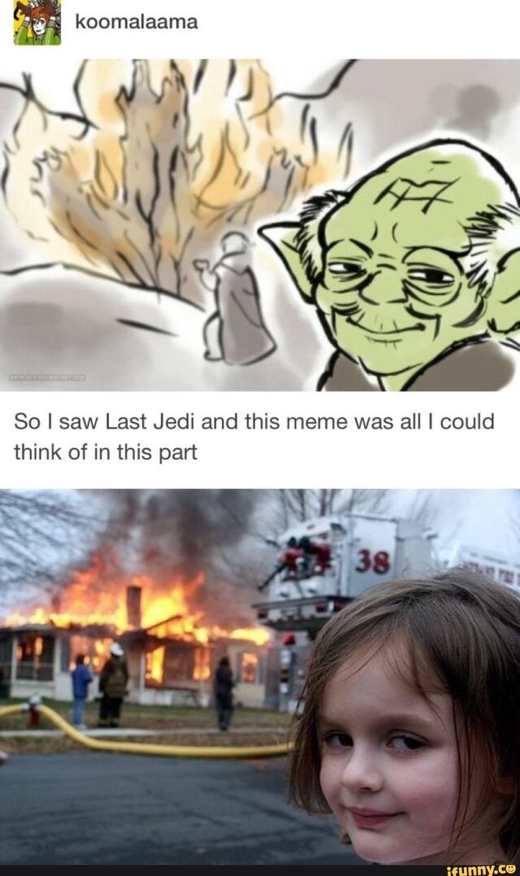 So I saw Last Jedi and this meme was all I could think of