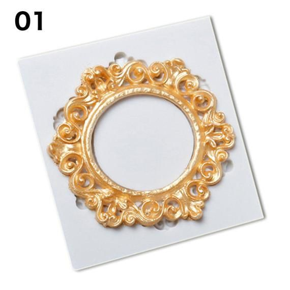 Jewelry Ring Silicone Mold Frame Wedding Fondant Cake Mold Cupcake Decorating Moulds Chocolate Pastry Tools Sugar – Abecedario