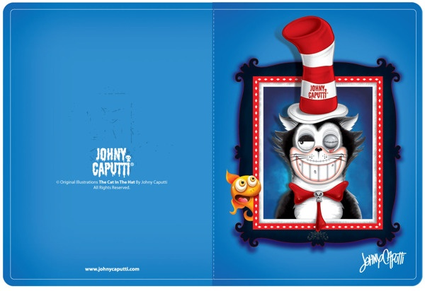 Illustration 1 by Johny Caputti, via Behance