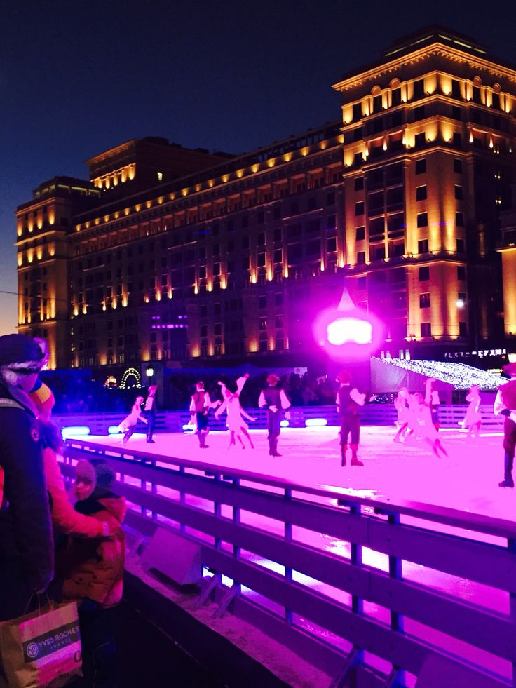 There was a great performance on the skating ring on the Revolution Square just next door from Red Square. http://hotels-search.consolidator.travel/Hotels/Place/Moscow.htm