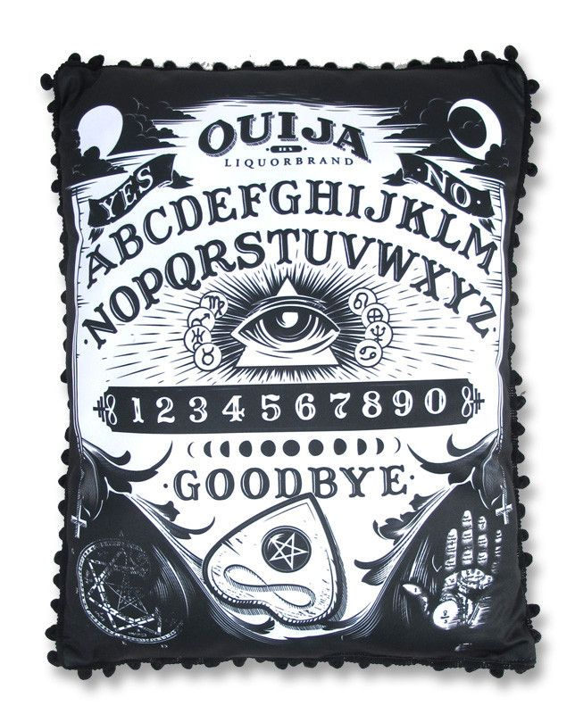 Ouija Board Throw Pillow Needful Things Pinterest
