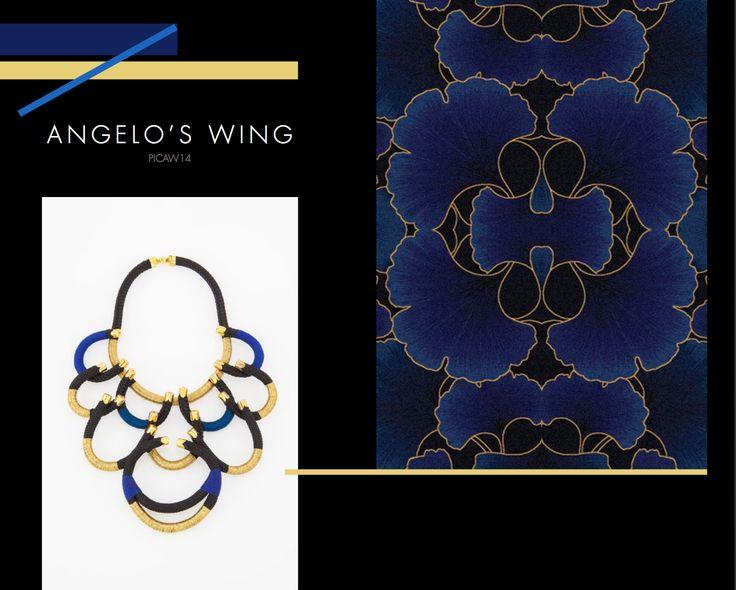 Angelo's Wing Neckpiece, Buy online: www.pichulik.com/shop