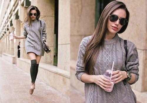 Moda y  Tendencia: Abrigadas pero con estilo!