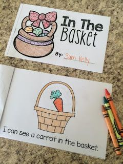 FREE emergent reader for Easter. Sight words I, can, see, a, in, the, do, and you.