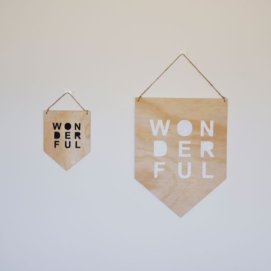 Made By Mee + Co | Wonderful Ply Banner