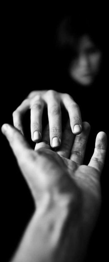 Een uitgestoken hand ...