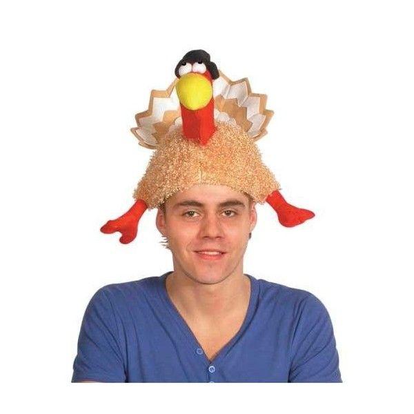 Turkey Leg Hat | NOVELTY HAT: TURKEY HAT WITH LEGS & TAIL