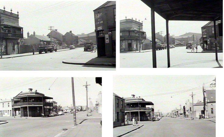 Raglan Street. 1954