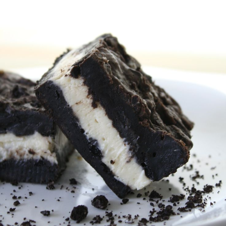 Oreo Cheesecake Brownies.