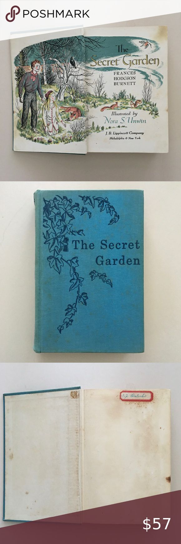 Rare Book 1938 The Secret Garden in 2020 Rare books