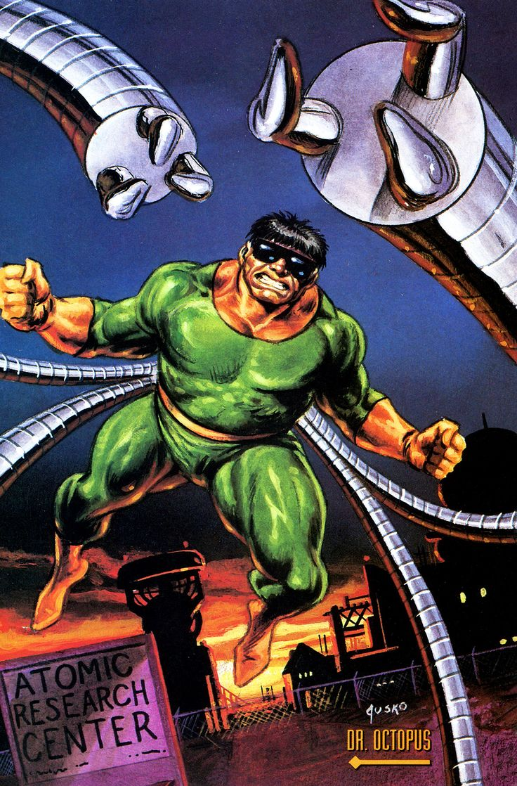 76 best images about Doctor Octopus on Pinterest | Mike ...
