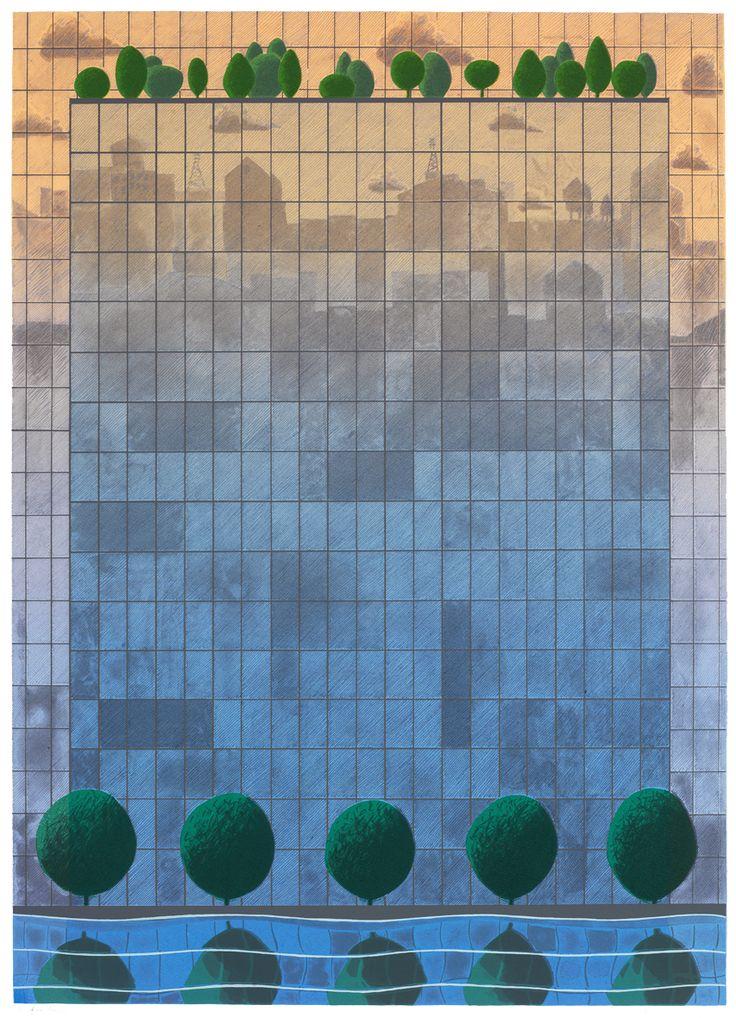 Kristian Krokfors - Reflections 3, 2012 (Screenprint)