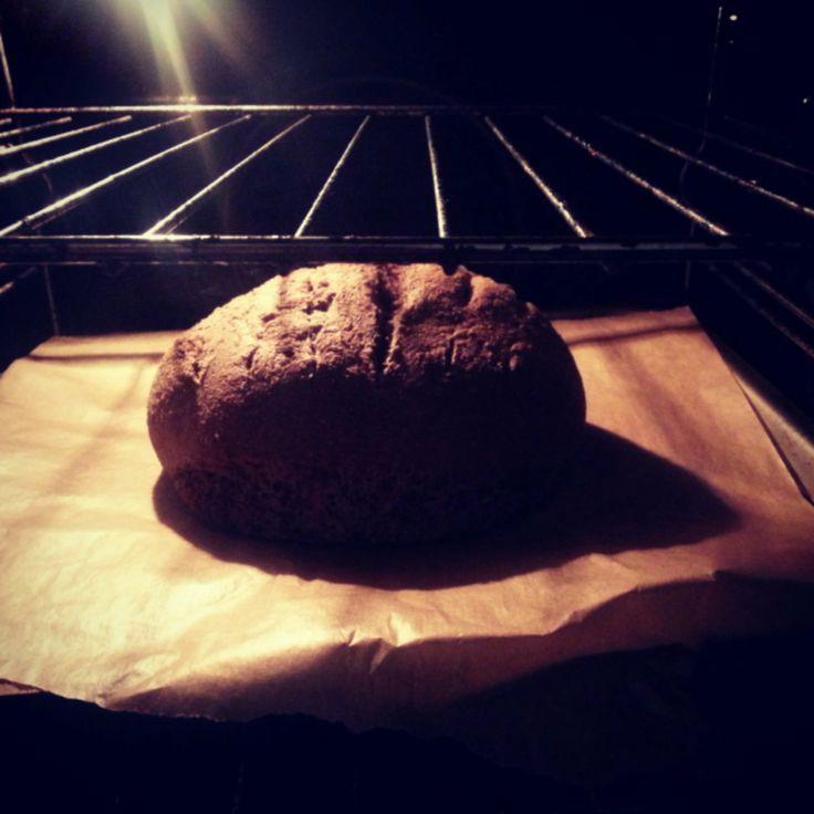 Gluten free bread #baking