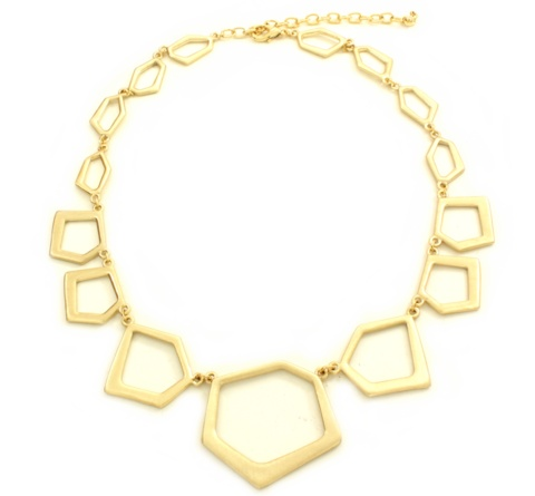 Cassidy Nouveau Gold Necklace at Poshlocket. Wish this came in silver/pewter!Accessories Jewelry, Nouveau Gold, Fab Jewelry, Gold Necklaces, Fun Jewelry, Products, Necklaces 45, Accessories Cravings, Cassidy Nouveau