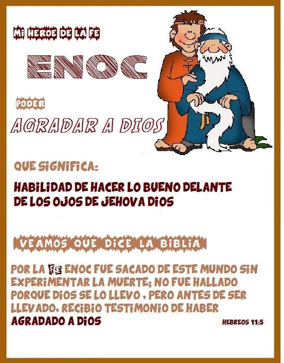 Heroes de la Fe: Enoc | Escuela dominical para niños