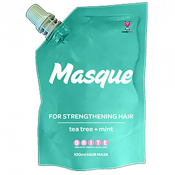 Brite Organix Organix Masque For Strengthening Hair - Tea tree & Mint 100 mL