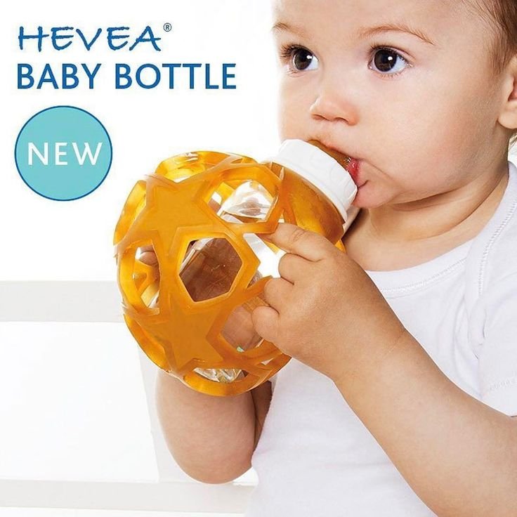 "12 Likes, 1 Comments - Gentle Nest (@gentlenest) on Instagram: ""It's a ball, it's a glass baby bottle, use them together or take them apart! @heveababy features…"""