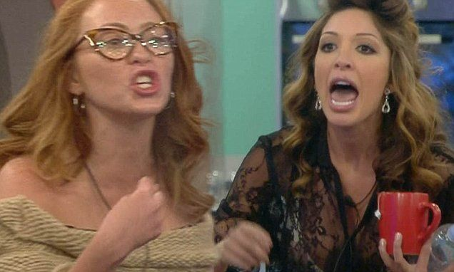 Celebrity Big Brother's Farrah threatens to KILL housemates after row