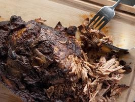 Slow Cooker Shredded Pork    Kelsey's slow-cooked pork is the perfect recipe for the busy professional or mom on the go. Set it in the morning, forget it all day and come home in the evening to a flavorful, fork-tender meal that melts in your mouth.