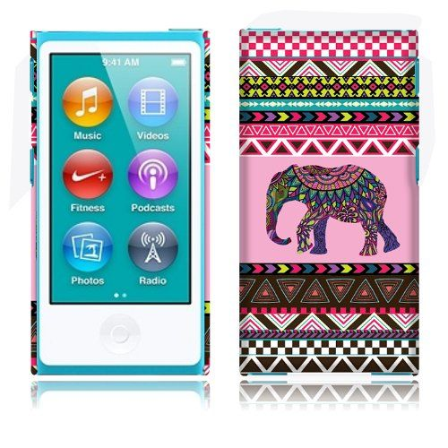 Fincibo (TM) Apple iPod Nano 7 (7th Generation) Back Cover Hard Plastic Protector Case - Aztec Elephant Fincibo http://www.amazon.com/dp/B00MB7BPNG/ref=cm_sw_r_pi_dp_nRkmub1TRH9YX