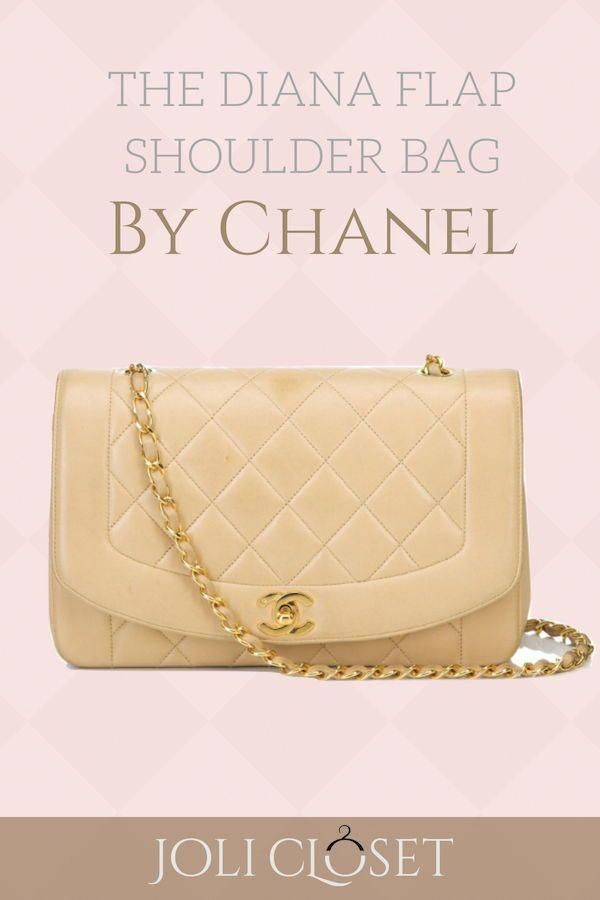 f4be6e2f4874 The pink Chanel Diana flap shoulder bag