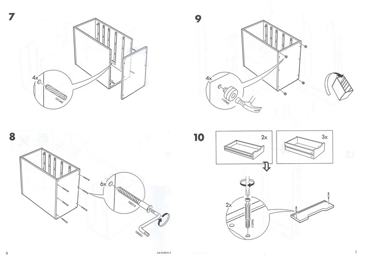 D Line Drawings Ikea : Ikea instruction details instructions manual pinterest