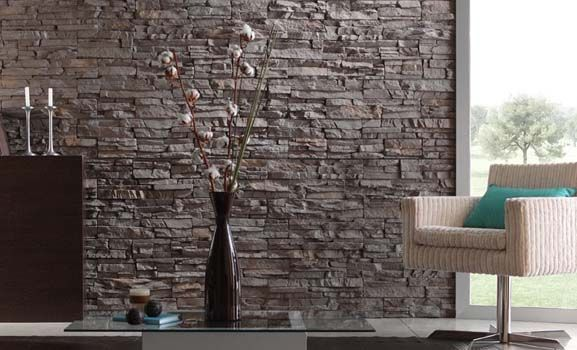 13 best Steinwand images on Pinterest White bricks, Brick wall - wand gestalten mit steinen