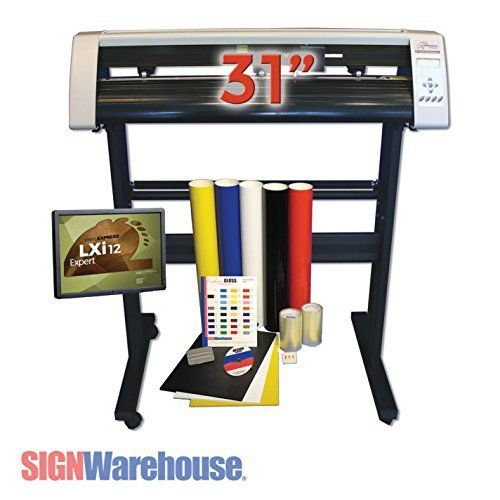 """Sign Warehouse Vinyl Express® Cutter 31"""" w/ VE LXi Apprentice Software for Sign Making Hobby Craft >>> Find out more at the image link. #ScrapbookingStamping"""