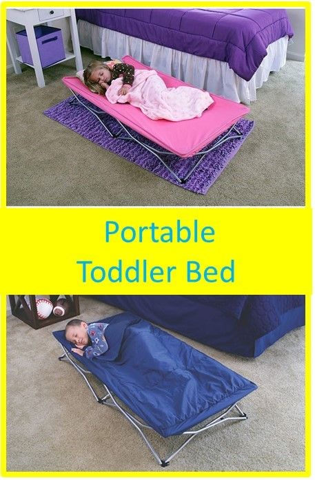 Toddler Sleepover Portable Cot Bed Extra Long Cozy Space Travel Kid Extra Room #ad #guest
