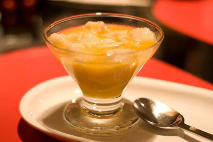 Chirimoya alegre - Chilean dessert