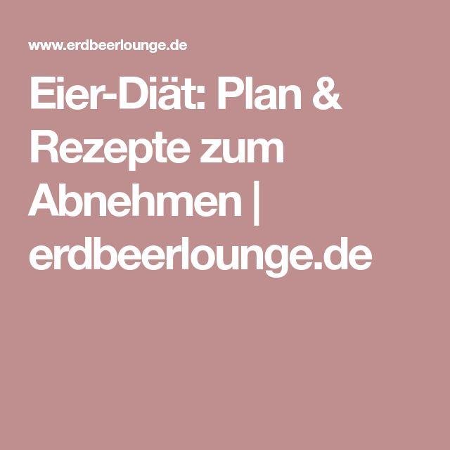 Eier-Diät: Plan & Rezepte zum Abnehmen   erdbeerlounge.de