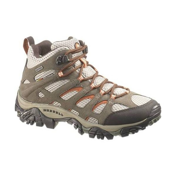 Women's Hiking Boots – Shop Ladies' Hiking Boots & More from Merrell ($150) ❤ liked on Polyvore
