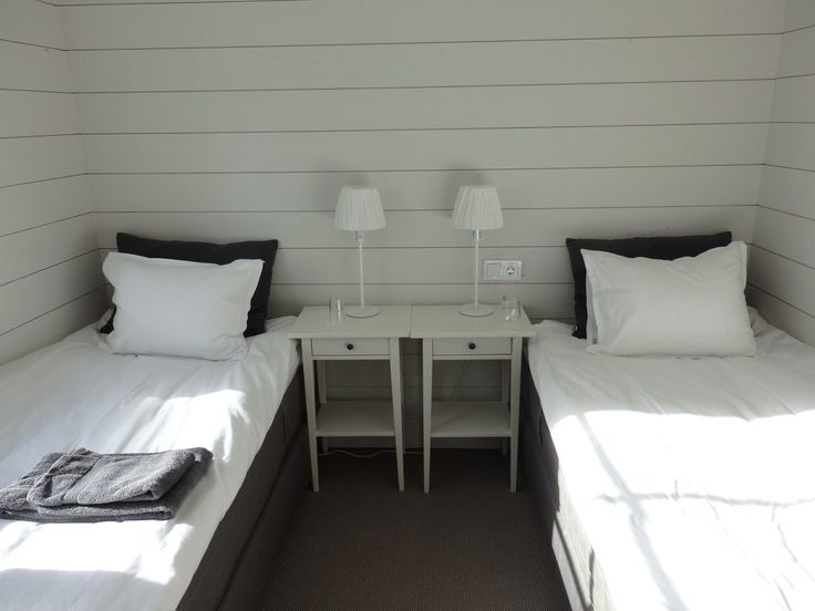 My room in the hotel on Nasslingen Island, Sweden.