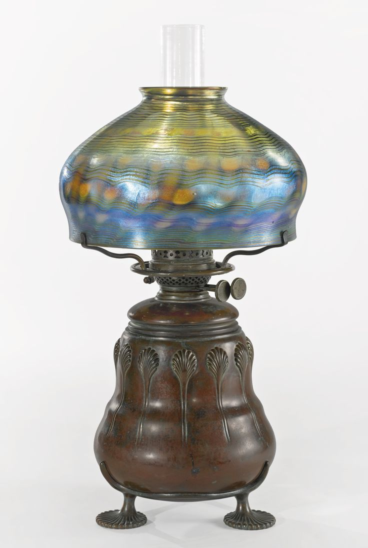 849 best oil lamps images on pinterest oil lamps lamps and tiffany studios an early oil table lamp shade engraved s5183 underside of oil font impressed mozeypictures Image collections