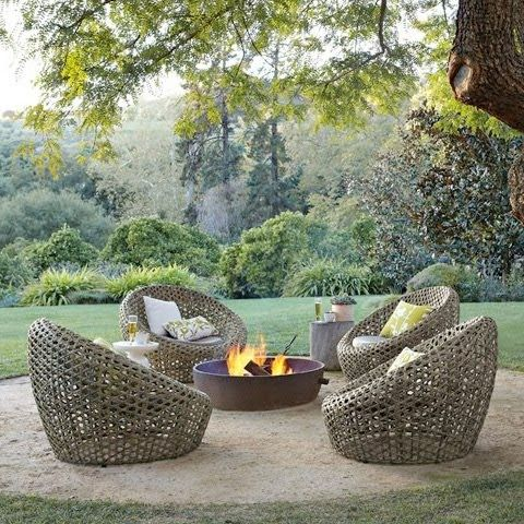 Seeing this outdoor furniture cheers me up after hearing about the snow i'll be getting tomorrow... Yuck! Click here to check out West E...