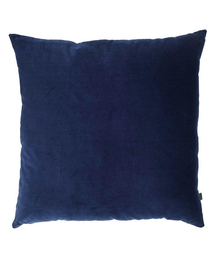 Big Blue Cushion.   http://www.huntingforgeorge.com