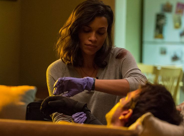 Why Everybody Fell for Rosario Dawsons Daredevil Character Claire Temple : Hombres Mag For Men | MoreSmile