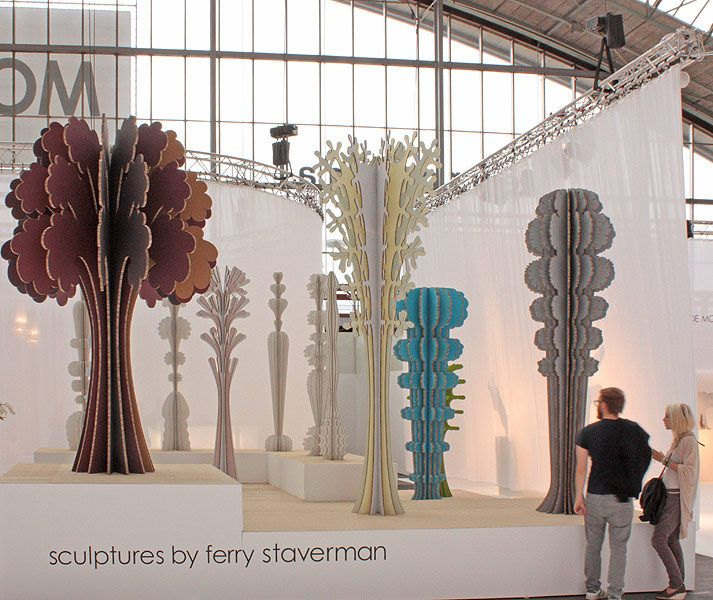 The fabricated forest by Ferry Staverman  #art #sculptures #trees