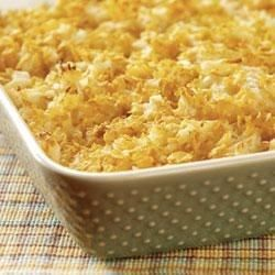 Perfect as a side dish for brunch or dinner, this creamy and crunchy hash brown casserole always fits the bill.