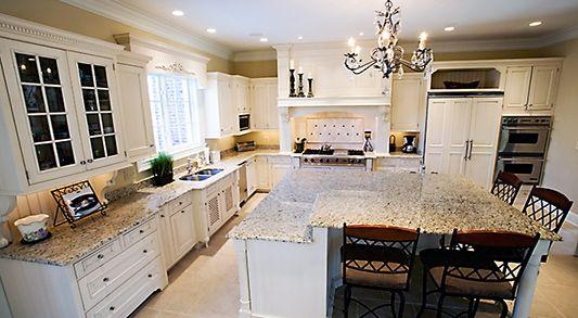 backsplash and giallo-ornamental-granite