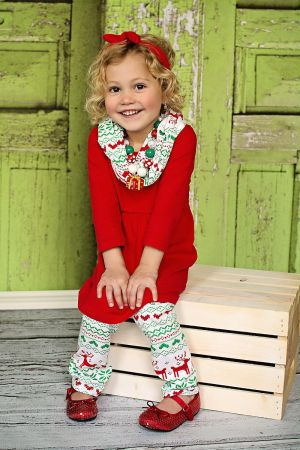 Wholesale Children's Clothing|Boutique Christmas Clothing