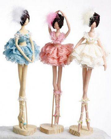Mimin Dolls: Dolls coreanas -Bailarinas pattern